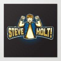 Steve Holt! Canvas Print