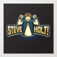 Steve Holt! Canvas Print