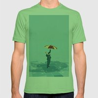 Protection From Online A… Mens Fitted Tee Grass SMALL