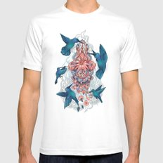 kolibri Mens Fitted Tee White SMALL