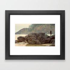 Just Fishing Framed Art Print