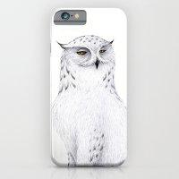 iPhone & iPod Case featuring Snowy Fowl II by Mariya Olshevska