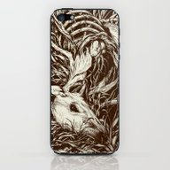 iPhone & iPod Skin featuring Doe-eyed by Teagan White