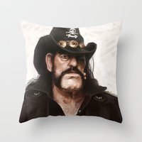 Lemmy Throw Pillow