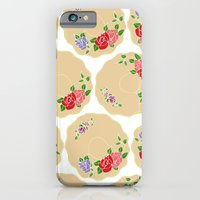 iPhone & iPod Case featuring Vintage Saucers by Hannah Stevens