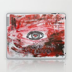 Eye am in love Laptop & iPad Skin