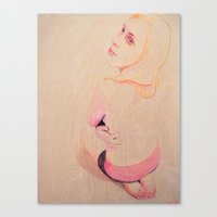 Marina Entranced Canvas Print