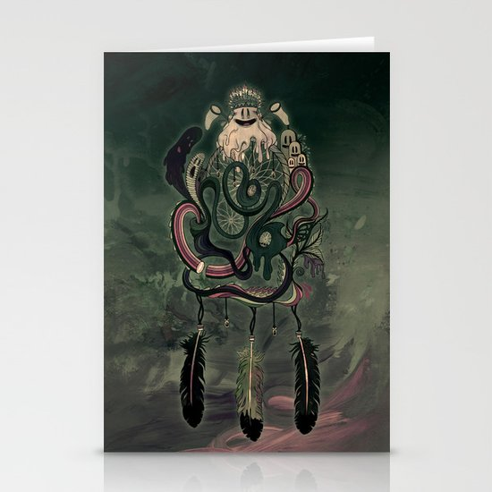 The Dream Catcher: Old Hag's Bane Stationery Card