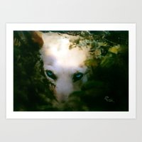 DOG Or DEVIL Art Print