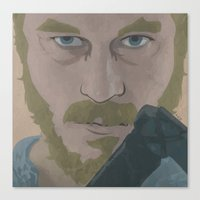 Ragnar Lothbrok from Vikings Canvas Print