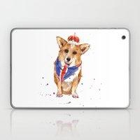 JUBILEE Corgi Print - 8x10 inches Laptop & iPad Skin