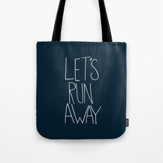 Let's Run Away: Cannon Beach, Oregon Tote Bag