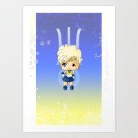 Sailor Uranus Art Print