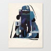Blue Scale Canvas Print
