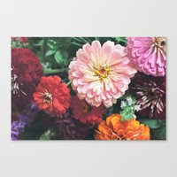 Buy Me Flowers Canvas Print
