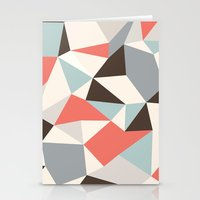 Mod Hues Tris Stationery Cards