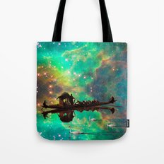 THE AFRICAN BOAT IN THE … Tote Bag