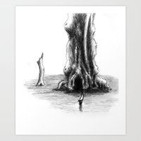 Sea Tree Art Print
