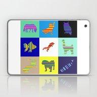 Animal Stripes Compositi… Laptop & iPad Skin