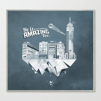 Sick City Canvas Print
