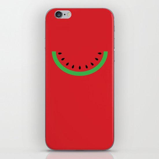 Minimal Melon iPhone & iPod Skin