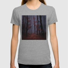 red forest 2 Womens Fitted Tee Athletic Grey SMALL