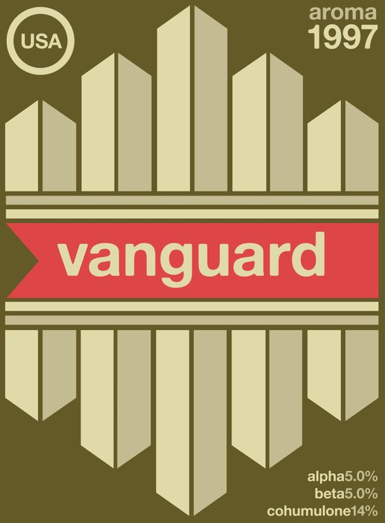 vanguard single hop Art Print
