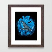 Abyss 2099 Framed Art Print