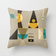 Geometric/Abstract 19 Throw Pillow