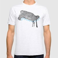 Going Wild  Mens Fitted Tee Ash Grey SMALL