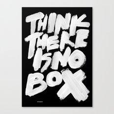NOBOX Canvas Print