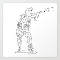 Military Art Art Print