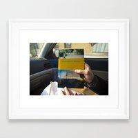 Time Stamped. Framed Art Print