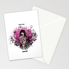 Not Your Sweetie Stationery Cards