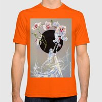 little white lies-sneak preview Mens Fitted Tee Orange SMALL