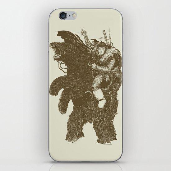 Bearpoleon iPhone & iPod Skin