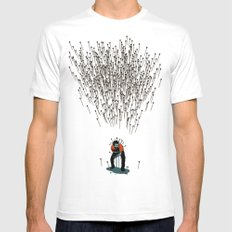 Stop Wasting Arrows And Aim For Its Head, You Damn Fools! V2 Mens Fitted Tee White SMALL