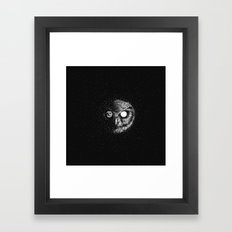 Moon Blinked Framed Art Print
