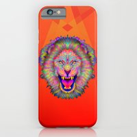 iPhone & iPod Case featuring LION by Andre O Gray