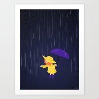 Rain, Rain  Art Print