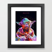 Master Framed Art Print