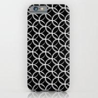 Brushed Circles Inverse iPhone 6 Slim Case