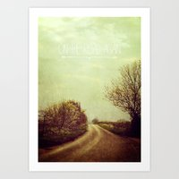 On the Road Again Art Print