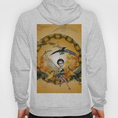 Cute fairy with songbirds Hoody