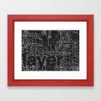 Layer. Framed Art Print