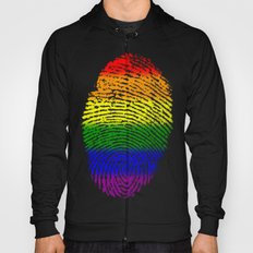 LGBT Pride Fingerprint (Gay Pride) Hoody