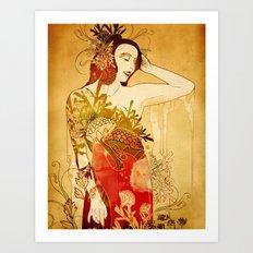 Wormwood Art Print