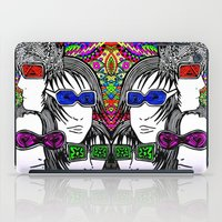 Face your brain iPad Case