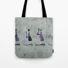 Forms of Prayer - White Tote Bag
