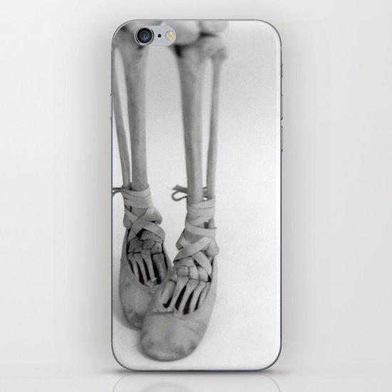 Skeleton Pointe iPhone & iPod Skin